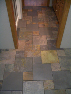 My Entryway Slate Floor