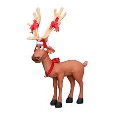 Comic Reindeer Dasher (Straight Legs)