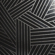 Woven Planks, Black and White, Paste The Wall