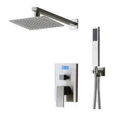 Digital Temperature Display Pressure Balanced Shower System