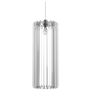 Cilindro Lamp 60, Transparent Plexiglass