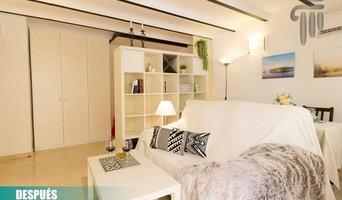Home Staging para piso en Calle Calatrava (Sevilla)