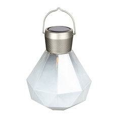Solar Glass Gem Light, Milk