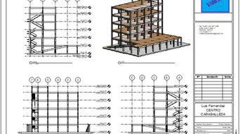 Estructura de hormigón armado del Centro Comercial Caraballeda