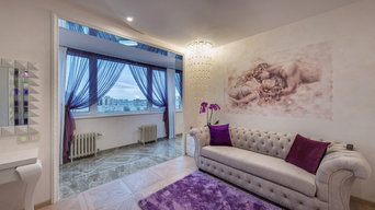 Шторы для квартиры на Бухарестской улице