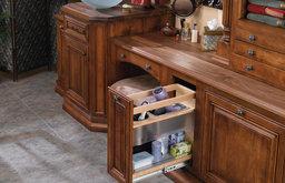 "Rev-A-Shelf 445-VCG20SC-8 445 Series 8""W by 20""H Vanity Base - Natural Wood"