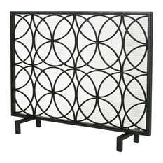 within gold dessau screen screens prepare fireplace decorative home circles antique contemporary