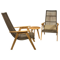 Midcentury Outdoor Lounge Sets by Outdoor Interiors