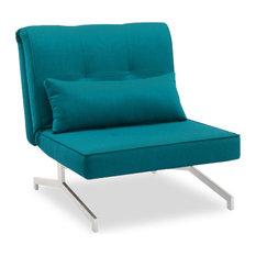 Fauteuil convertible contemporain - Fauteuil turquoise contemporain ...
