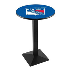 New York Rangers Pub Table 28-inchx36-inch