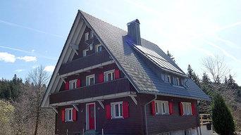 Försterhaus am Schluchsee: Energetische Sanierung und Modernisierung zum KfW-70