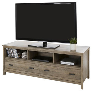06d33fac7d1 Ashley Trinell Large TV Stand With Fireplace Option