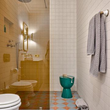 Квартира по проекту Нади Зотовой, 223 м². Публикация AD