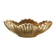 Dimond Home Poppy Planter, Gold 166-015