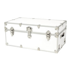 Artisans Domestic Heirloom Armor Birch Storage Box, White