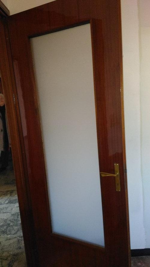 Porte interne un po 39 datate - Verniciare una porta in legno ...