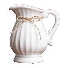 High Quality Ceramic Vase, Dry Flower Vase White