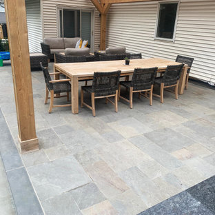 Bluestone Collection (Full Color Cleft) - Outdoor Porcelain Pavers