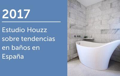 Estudio Houzz sobre tendencias en baños en España 2017