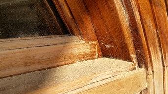 cabinet and door refinishing
