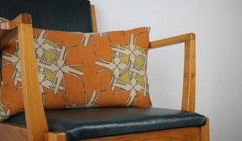 Morag Macpherson cushion, mustard