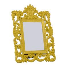 Ornate Photo Frame, Yellow, 20x30 cm