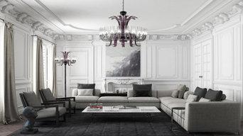 LEONARDO - Large Murano Glass Chandelier