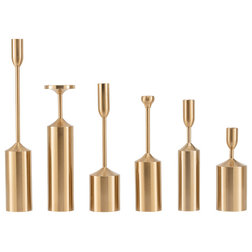 Contemporary Candle Holders & Candelabra by Aufora