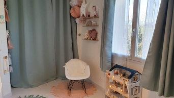 Aménagement d'une chambre de bébé
