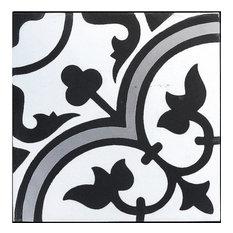 Roseton B Cement Tile, Sample