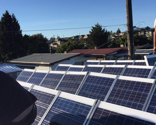 Solar Panel for a Modern House in Vancouver BC - Home Electronics
