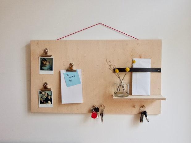 Stauraum diy eine coole pinnwand selber machen - Pinnwand selber bauen ...