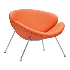 50 Most Popular Midcentury Modern Orange Armchairs And Accent Chairs