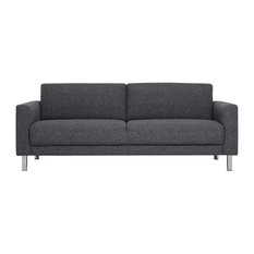 Furniture To Go - Cleveland Sofa, Anthracite,  3 Seater - Sofas