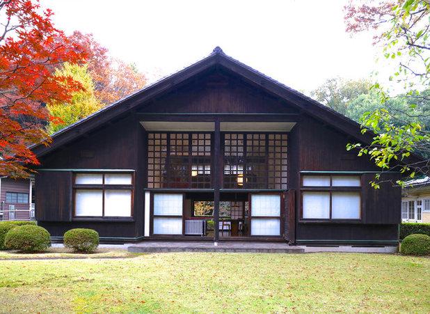 Maison au japon stunning cette maison est entirement - Maison de vallee au japon par hiroshi sambuichi ...