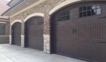 Classica Garage Doors in Walnut