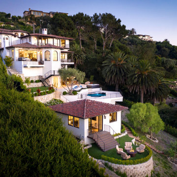 Palos Verdes Estates Spanish Residence