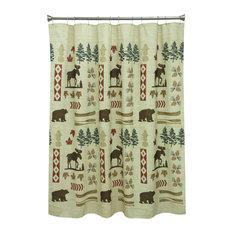 Delightful Bacova Guild   North Ridge Shower Curtain   Shower Curtains
