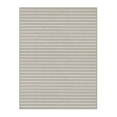 Couristan Antigua Accent Rug, Indoor/Outdoor Carpet, Frost, 8'x10'