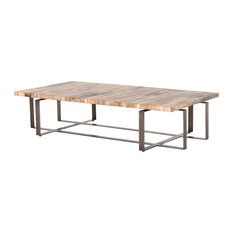 Wesson Brant Coffee Table, Spalted Primavera