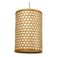 """12"""" Desu Japanese Lattice Hanging Lantern"""