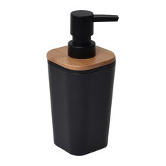 Trendy Transitional Lotion And Soap Dispensers For Houzz - Bathroom soap and lotion dispenser set