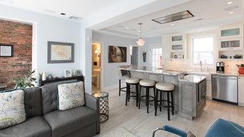 Open Floor Plan Kitchen Remodel Washington DC