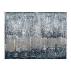 """""""The Wall"""" Canvas Painting, 160x120 cm"""
