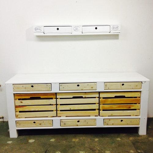 Palettenmöbel Sideboard & Kommoden