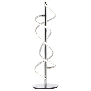 Montebello LED Table Lamp, Polished Chrome