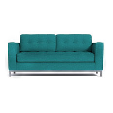 Apt2B - Fillmore Apartment Size Sleeper Sofa, Innerspring Mattress, Ocean Blue - Sleeper Sofas