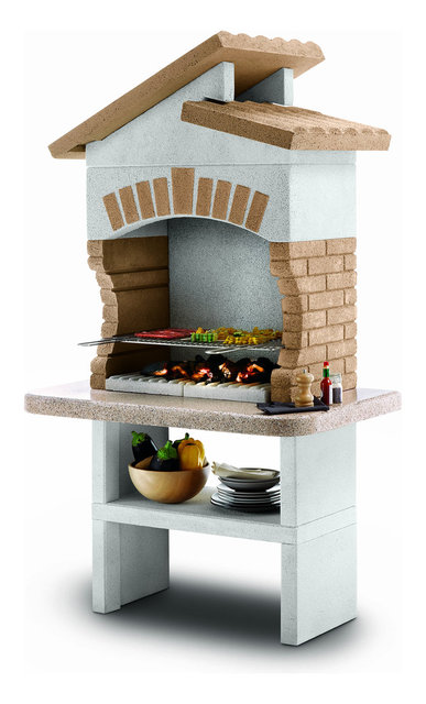 Palazzetti Tupai Barbecue Outdoor Cooking Grill By Paini ...