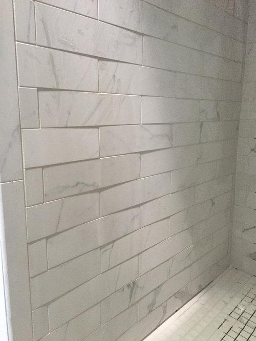 Shower Tile Lippage