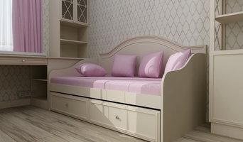 Комната для девочки визуализации